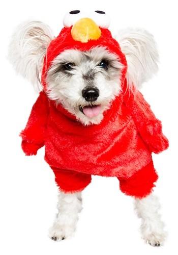 Fantasia de animal de estimação da Elmo Vila Sésamo – Elmo Sesame Street Pet Costume