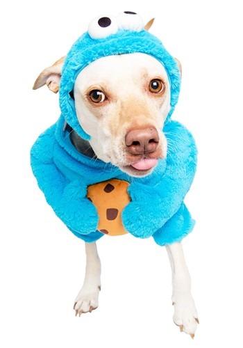 Fantasia de animal de estimação de Cookie Monster Vila sésamo  – Cookie Monster Sesame Street Pet Costume