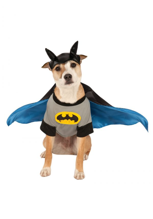 Fantasia de animal de estimação do Batman – Batman Pet Costume