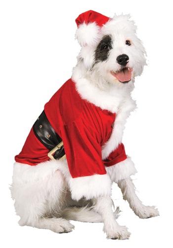Fantasia de animal de estimação do Papai Noel- Santa Pet Costume