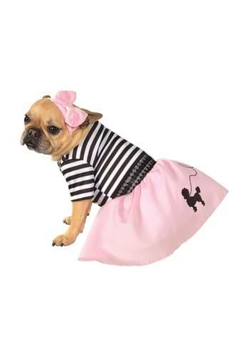 Fantasia de animal de estimação dos anos 50 – 1950's Poodle Skirt Pet Costume
