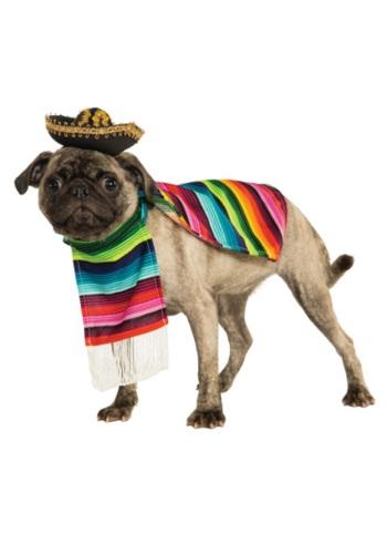 Fantasia de animal de estimação mexicano – Mexican Serape Pet Costume