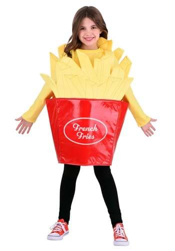 Fantasia de batatas fritas de fast food para crianças – Fast Food Fries Costume for Kid's