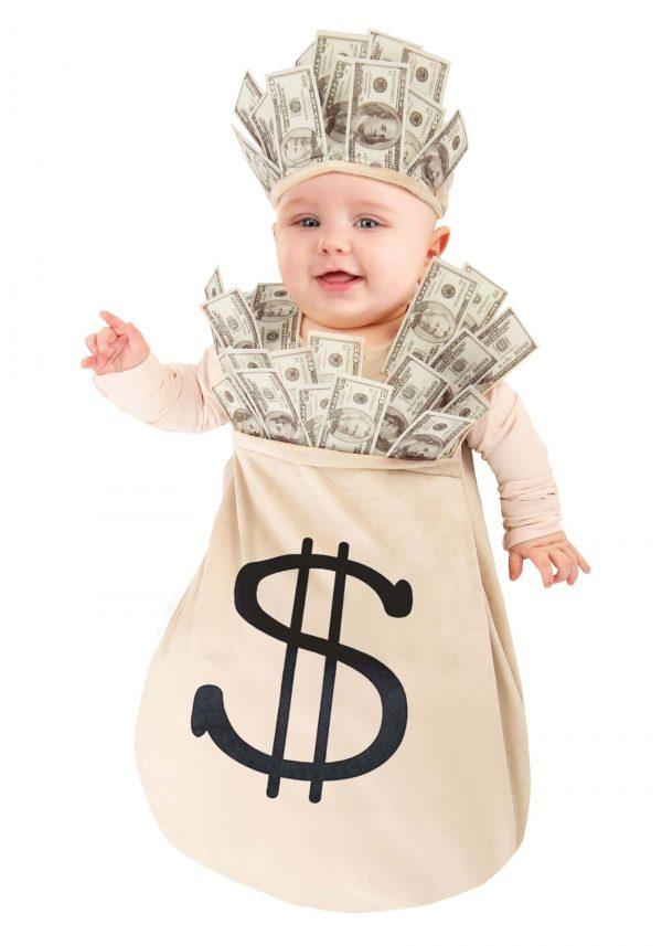 Fantasia de bebê bolsa de dinheiro – Money Bag Baby Costume