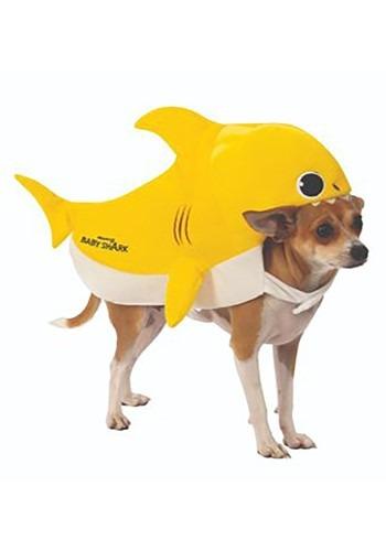 Fantasia de bebê tubarão cão- Baby Shark Dog Costume