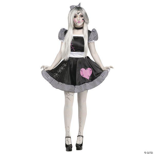 Fantasia de boneca quebrada feminina – Women's Broken Doll Costume