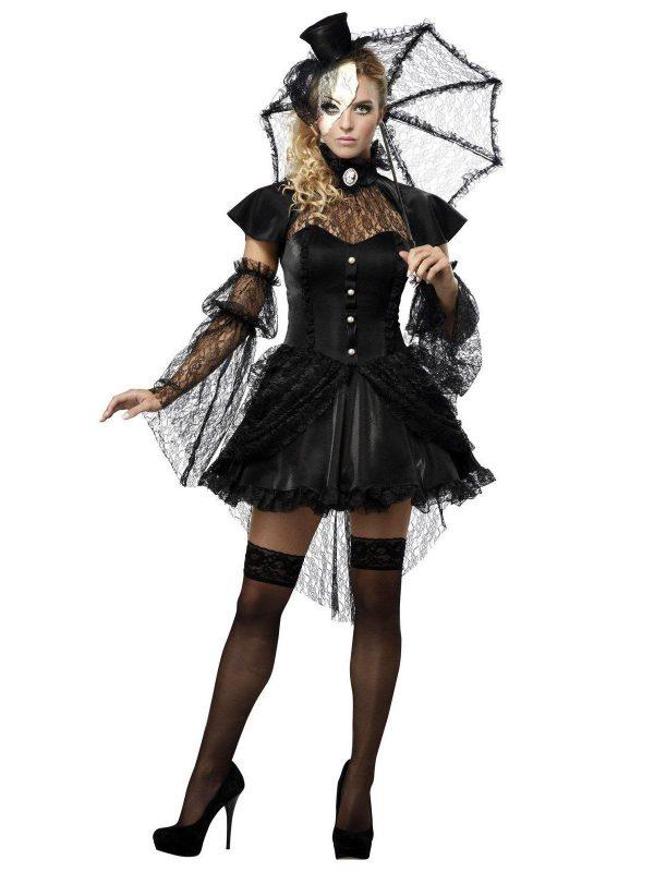 Fantasia de boneca vitoriana para adultos – Victorian Doll Adult Costume