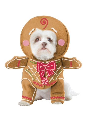 Fantasia de cachorro biscoito gengibre – Gingerbread Pup Dog Costume