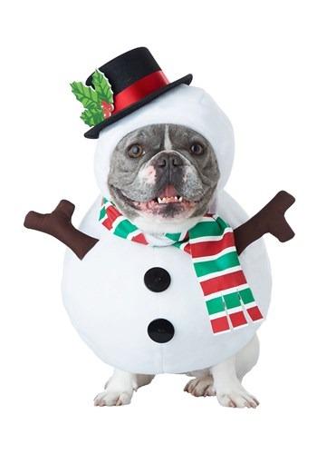 Fantasia de cachorro boneco de neve – Snowman Dog Costume