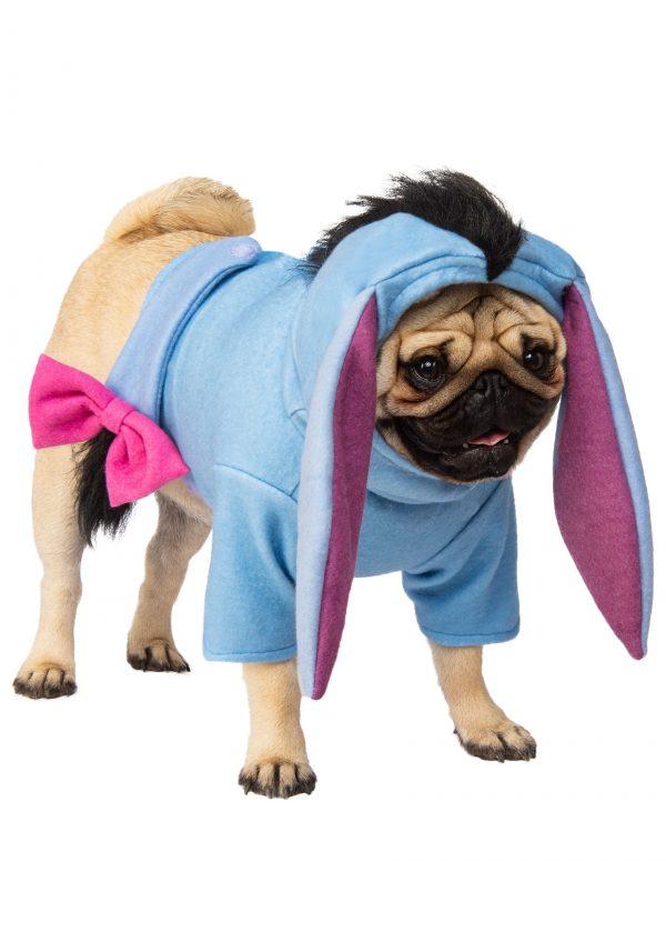 Fantasia de cachorro personagem Ló Ursinho pooh – Winnie the Pooh Eeyore Pet Costume