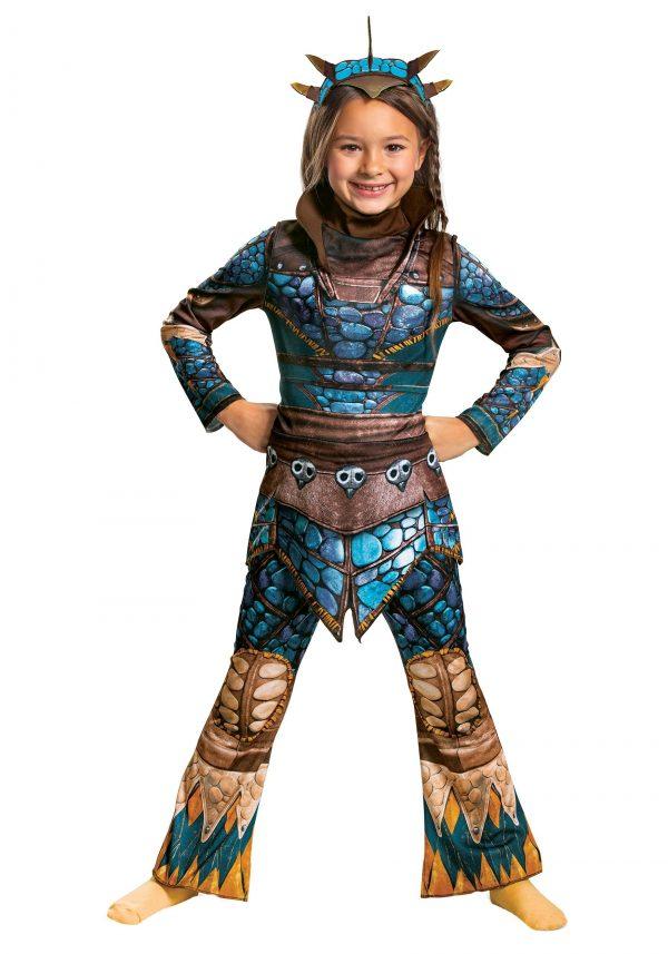 Fantasia de como treinar seu Dragão Astrid – Classic How to Train Your Dragon Girls Astrid Costume