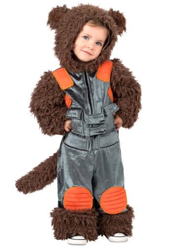 Fantasia de criança de guaxinim-foguete dos Guardiões da Galáxia  – Guardians of the Galaxy Rocket Raccoon Toddler Costume