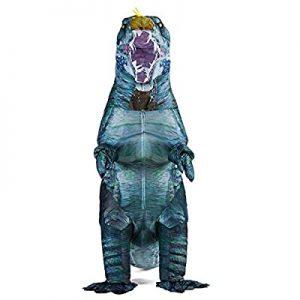 Fantasia de dinossauro Spinosaurus inflável para adultos – inflatable Dinosaur Costume Blow up Spinosaurus Costumes for Adults