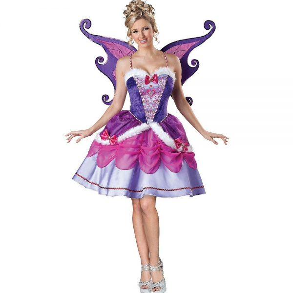 Fantasia de fada adulta açucarada – Adult Sugar Plum Fairy Costume