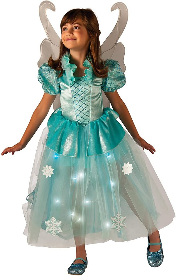 Fantasia de fada infantil de inverno –  Children's Winter Fairy Costume