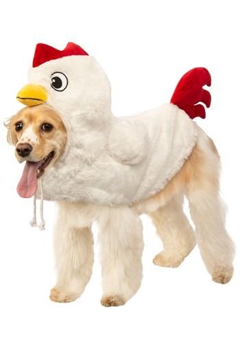 Fantasia de galinha  para cães – Clucking Chicken Costume for Dogs