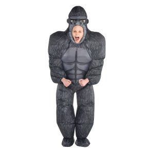 Fantasia de gorila inflável infantil – Child Inflatable Gorilla Costume