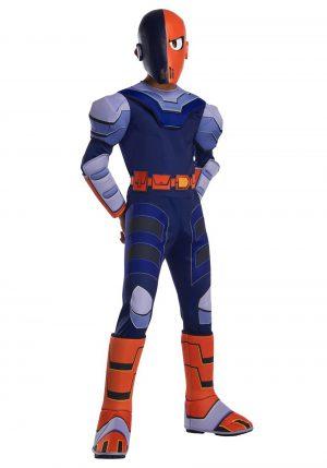 Fantasia de jovens Titãs Cyborg – Teen Titans Slade Costume for Kids