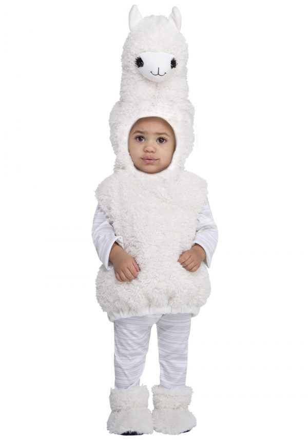 Fantasia de lama adorável para crianças – Lovable Llama Costume for Toddlers