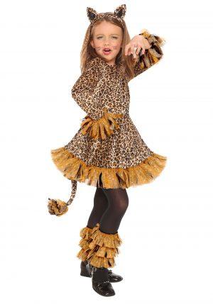 Fantasia de leopardo para meninas – Girls Leopard Costume