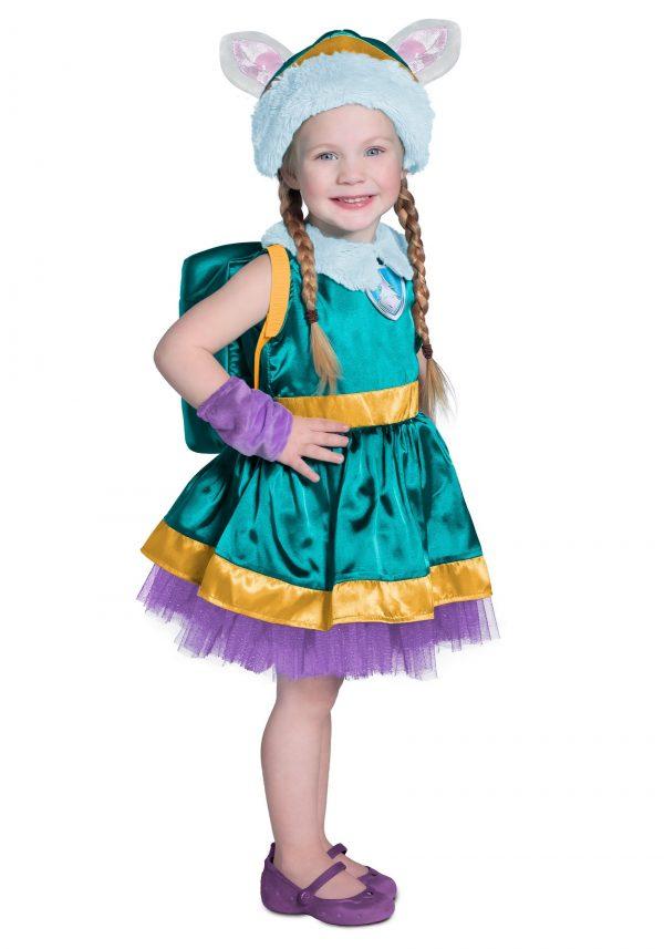 Fantasia de luxo Paw Patrol Patrulha canina Everest para crianças – Paw Patrol Everest Deluxe Costume For Kids