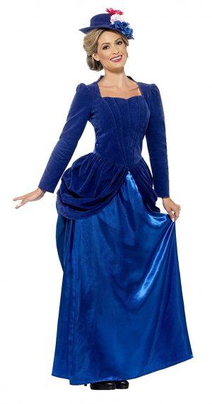 Fantasia de luxo vitoriano feminino de Smiffy's – Smiffy's Women's Victorian Vixen Deluxe Costume