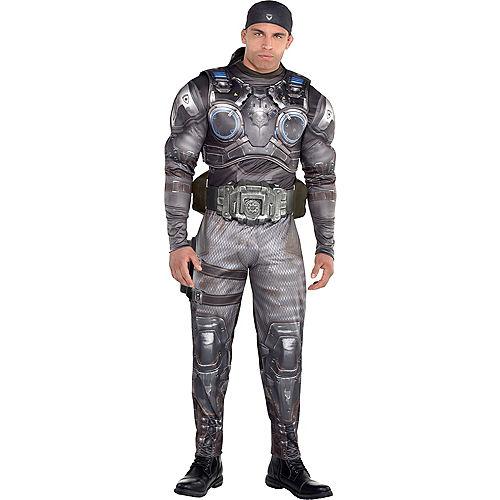 Fantasia de músculo adulto de Marcus Fenix Gears of War -Adult Marcus Fenix Muscle Costume Gears of War