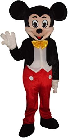 Fantasia de mascote de Mickey Mouse e Minnie Mouse para adultos – Mickey Mouse and Minnie Mouse mascot costume for adults