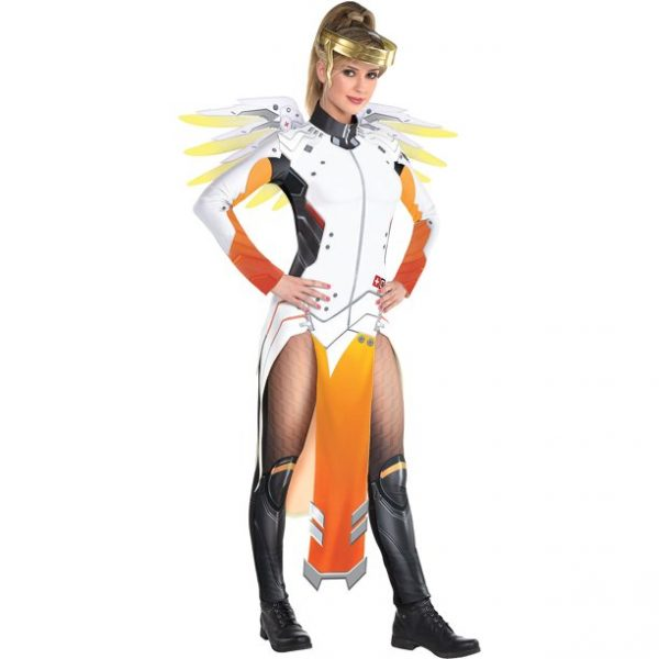 Fantasia de misericórdia para adultos Overwatch – Adult Mercy Costume Overwatch