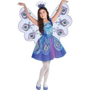 Fantasia de pavão para meninas- Girls Pretty Peacock Costume