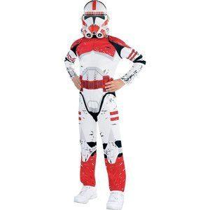 Fantasia de soldado de choque para meninos Star Wars – Boys Shock Trooper Costume  Star Wars