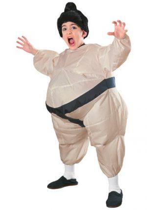 Fantasia de sumô inflável infantil – Child Inflatable Sumo Costume