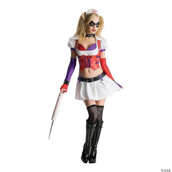 Fantasia feminina de luxo Harley Quinn – Women's Deluxe Harley Quinn Costume