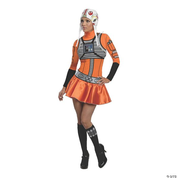 Fabtasia eminino de Star Wars ™ X-Wing Fighter – Women's Star Wars™ X-Wing Fighter Costume