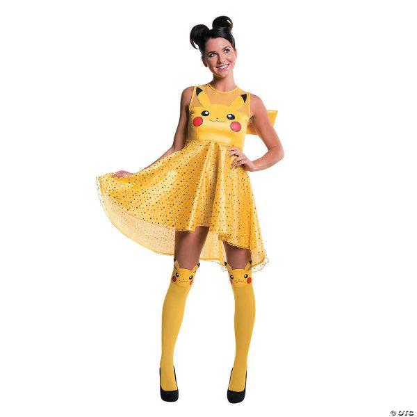 Fantasia feminino de pikachu – Women's Pikachu Costume
