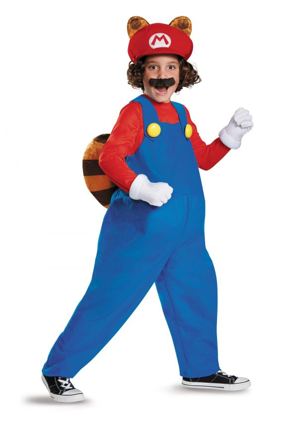Fantasia infantil Deluxe Mario Raccoon – Child Deluxe Mario Raccoon Costume