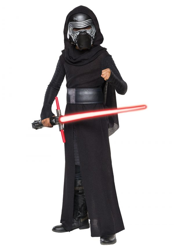 Fantasia infantil de luxo Star Wars :o despertar da força de Kylo Ren Villain – Child Deluxe Star Wars The Force Awakens Kylo Ren Villain Costume