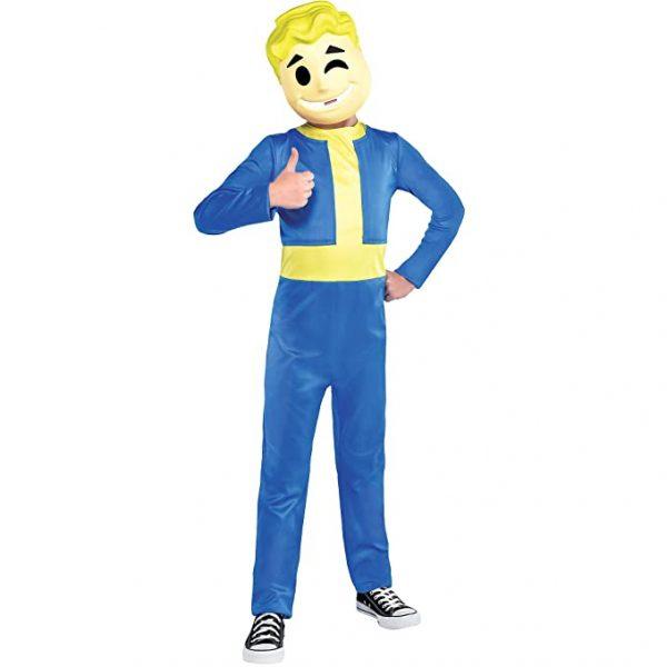 Fantasia infantil do Vault Boy  Fallout Shelter – Child Vault Boy Costume – Fallout Shelter