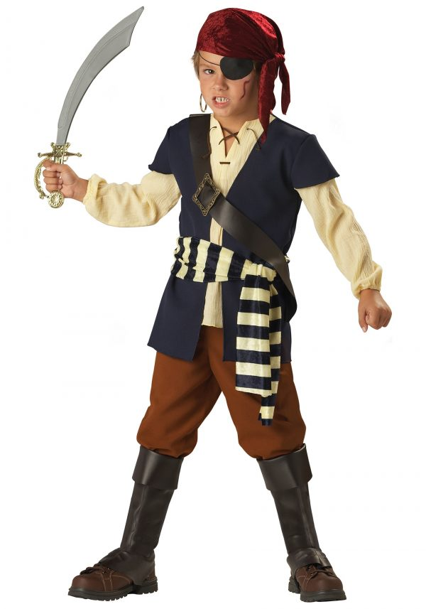 Fantasia infantil pirata companheiro – Kids Pirate Mate Costume