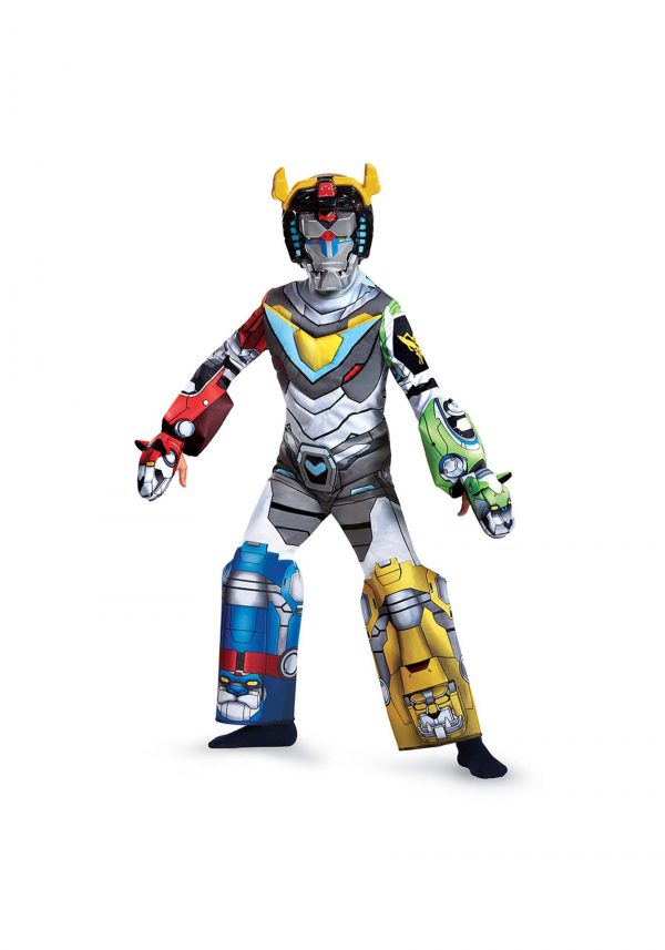 Fantasia masculino Voltron Deluxe infantil – Voltron Deluxe Boys Costume