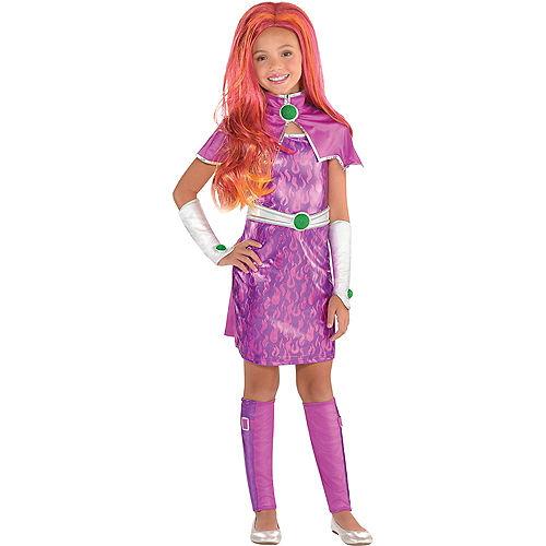 Fantasia para meninas Starfire  DC Super Hero Girls – Girls Starfire Costume  DC Super Hero Girls