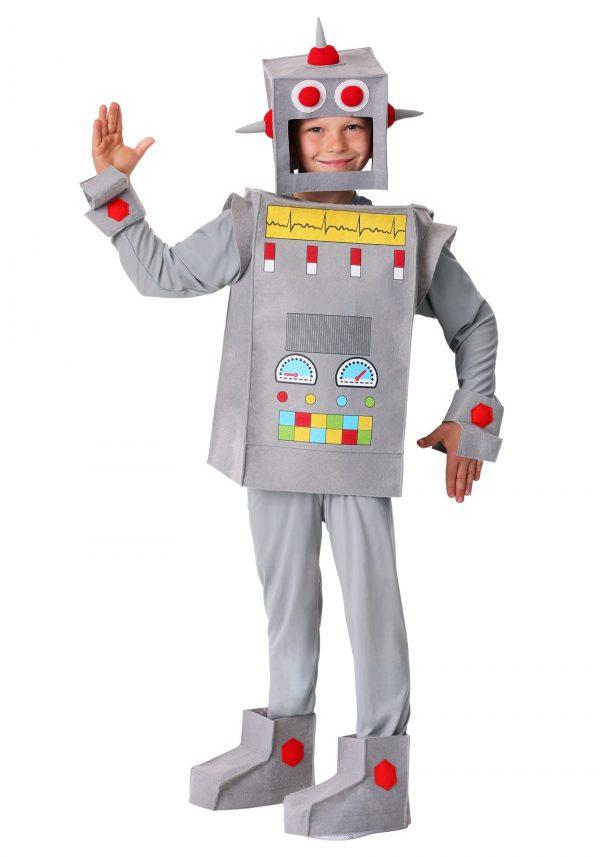 Traje de Robô Rascal Infantil – Robot Rascal Kid's Costume
