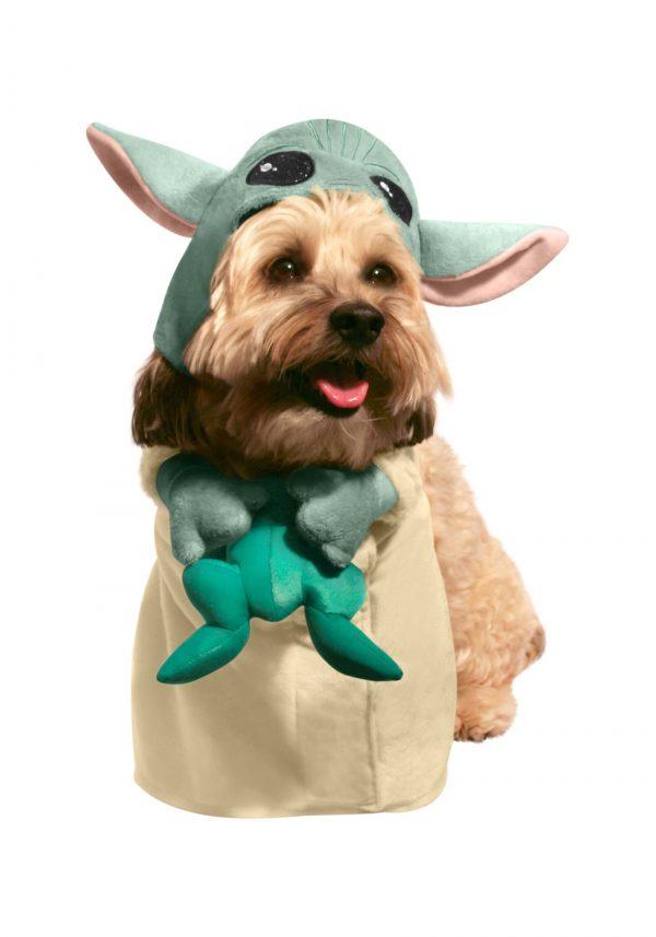 fantasia de animal de estimação Mandaloriana Star Wars – The Child with Frog Star Wars: The Mandalorian Pet Costume