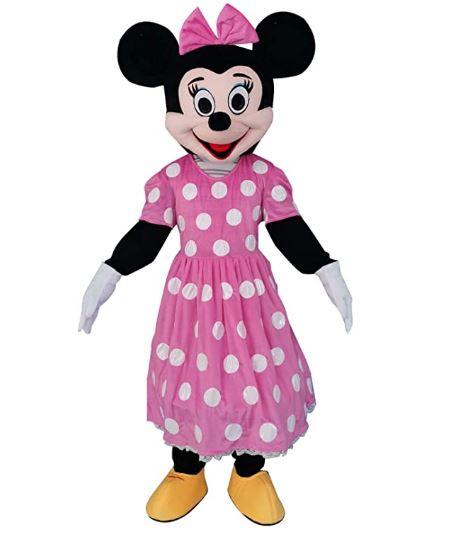 Fantasia da Minnie Mouse rosa – Minnie Mouse Pink Suit