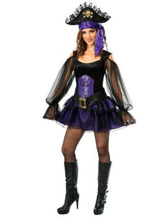 Fantasia de pirata feminina da Rubie's – Rubie's Women's Pirate Costume