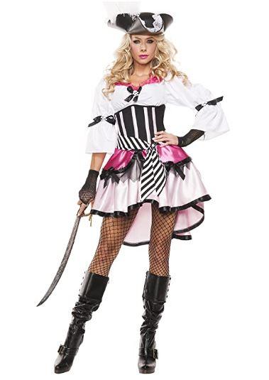 Fantasia de pirata feminina da Starline – Starline Women's Pirate Costume