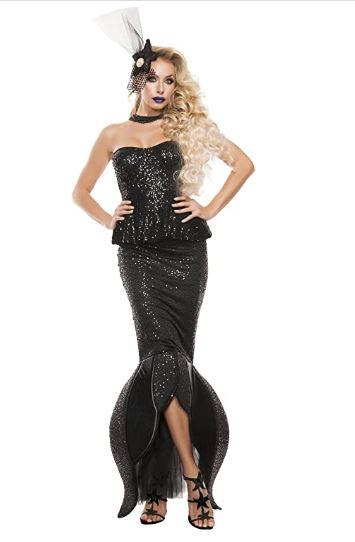 Fantasia Feminina Sereia negra – Black Mermaid Women's Fantasy