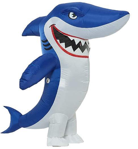 fantasia de tubarão inflável para Adultos – Inflatable Shark Costume for Adults