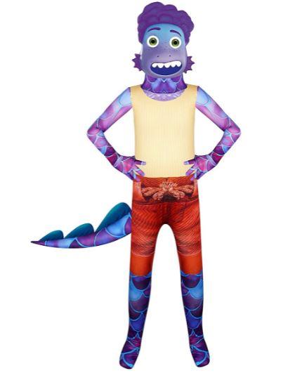 Fantasias Luca Disney Infantil -Luca Disney Children's Costumes