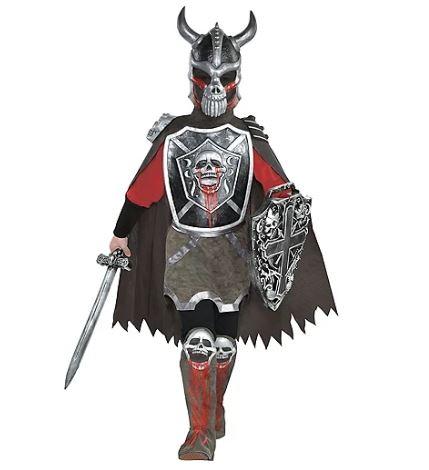 Fantasia de cavaleiro mortal para meninos – Boys Deadly Knight Costume